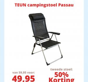 Teun Campingstoel Passau actie