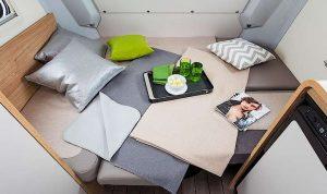 Knaus Travelino bed