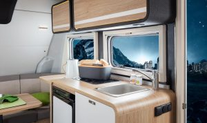 Knaus Travelino keuken