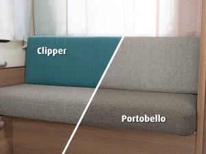 Bekledingen Dethleffs c'joy Clipper en Portobello