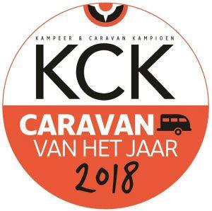 Caravan van het jaar 2018