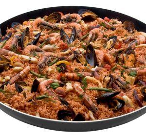 Cadac Paellapan food