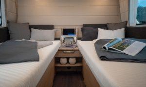 Knaus Sudwind 2019 2 aparte bedden