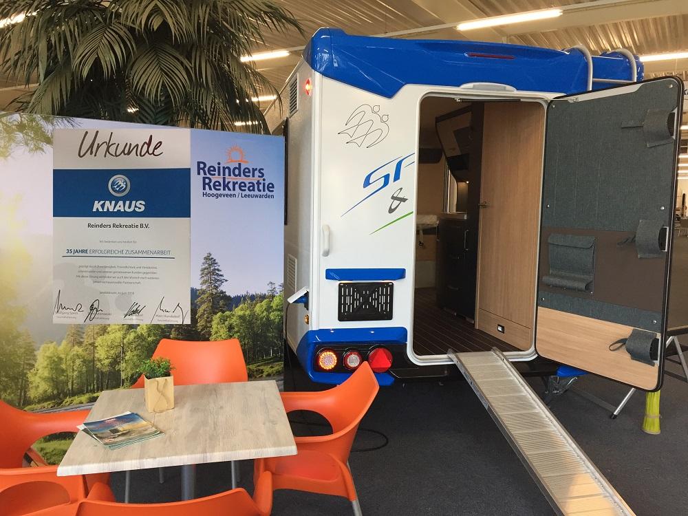 35 jaar Knaus dealer in Hoogeveen