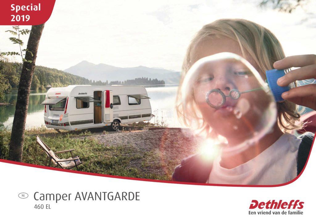 Dethleffs Camper Avantgarde 460 EL actiemodel