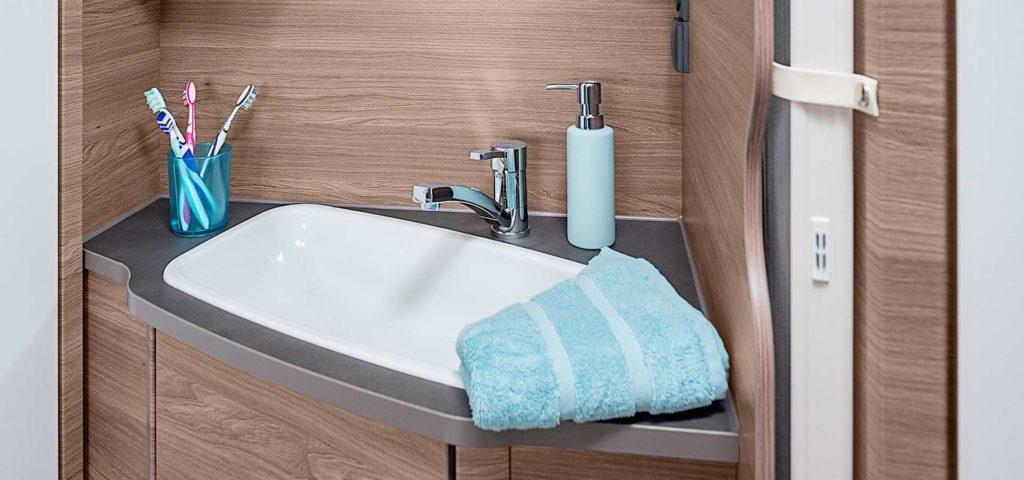 Knaus Sport 2019 grote foto toilet