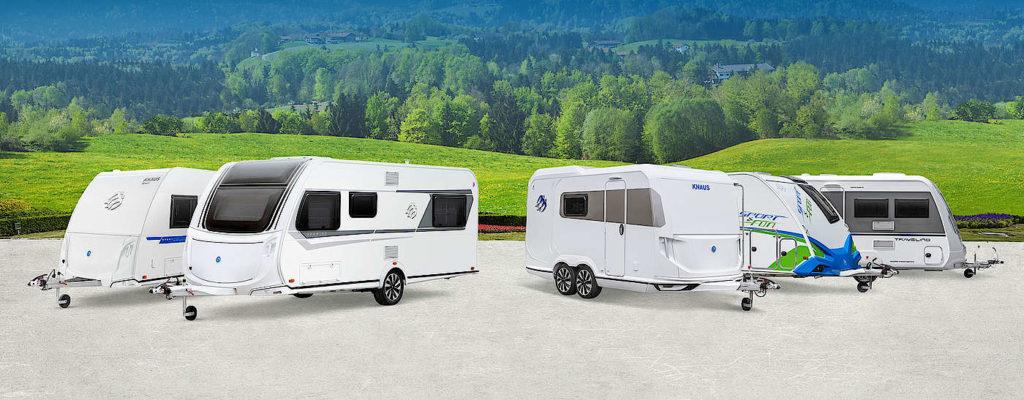 Knaus caravans 2020
