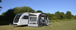 Kampa Sunshine Air Pro 300 met 2 zijwanden