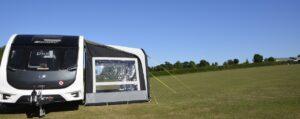 Kampa Sunshine Air Pro 300 met zijwand