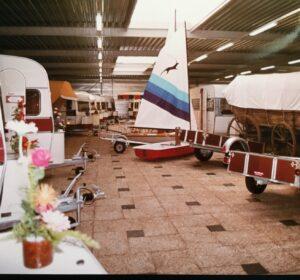 Showroom Hoogeveen zeventiger jaren