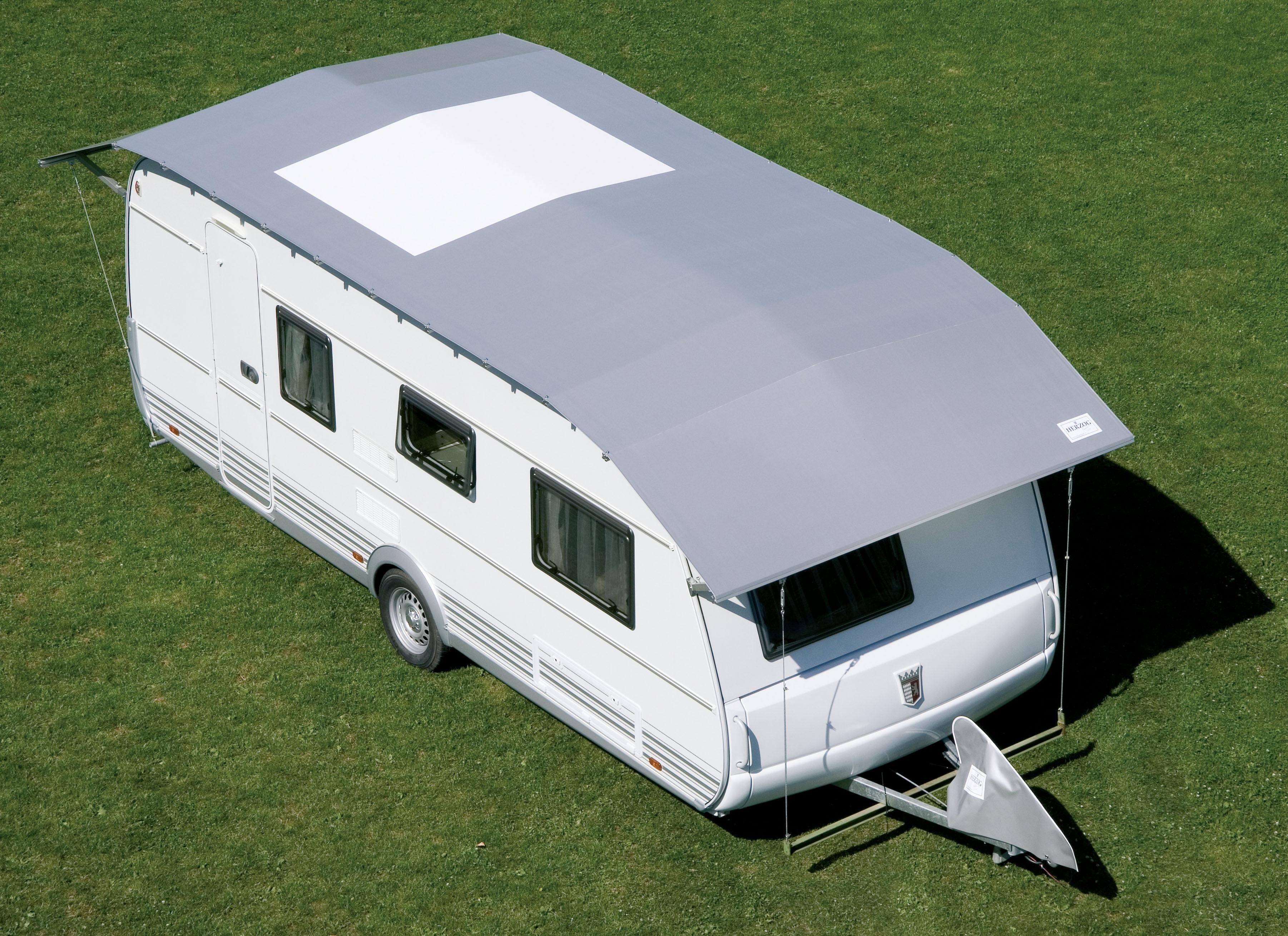 beschermhoes caravan tegen hagel