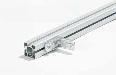 Aluminium profiel voor beschermdak Super ( 40×40 mm)