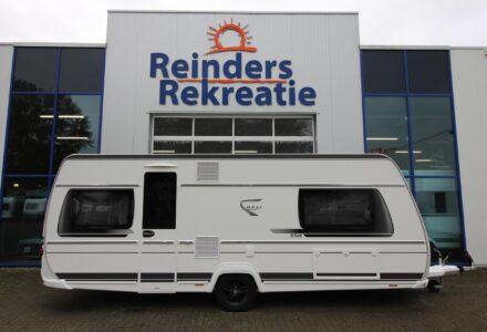 Knaus Caravan Met Stapelbed.Caravans Reinders Rekreatie