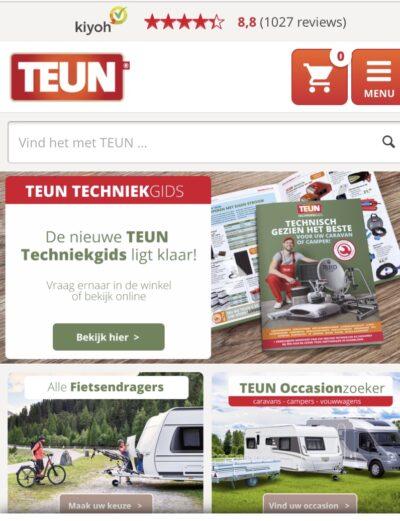 TEUN webshop
