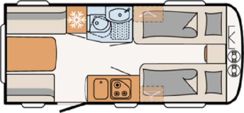 Dethleffs Camper en Nomad Avantgarde 460 EL