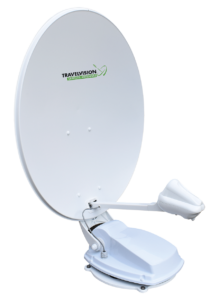 Travelvision TVA satellietschotel voor dakmontage